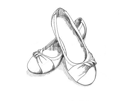 450x335 Mini Lesson Drawing Shoes From Different Angles Ms. Lawson'S