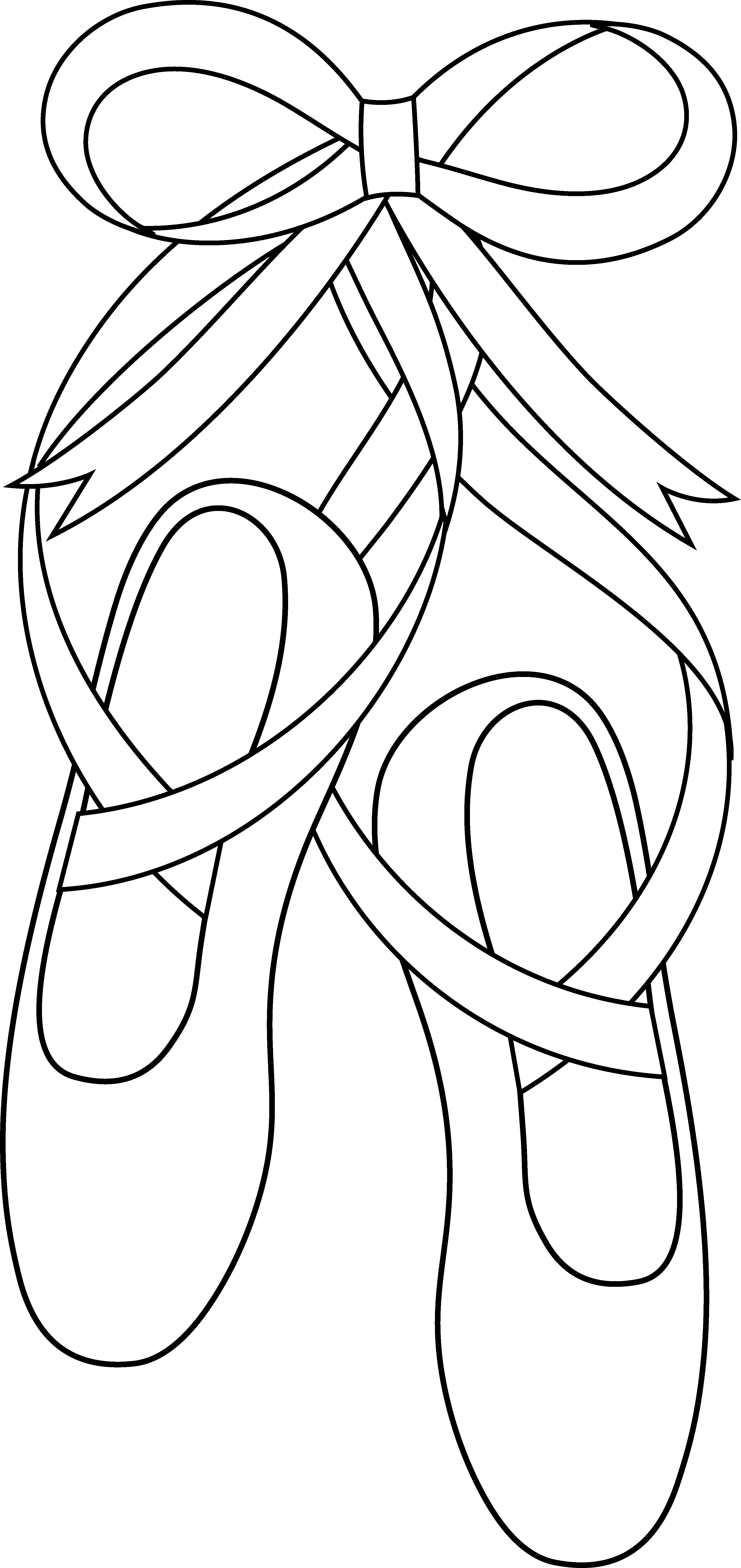 Dance Shoes Drawing At Free For Personal Use Pin Tango Steps Diagram On Pinterest 3300x6981 Cartoon Ballet
