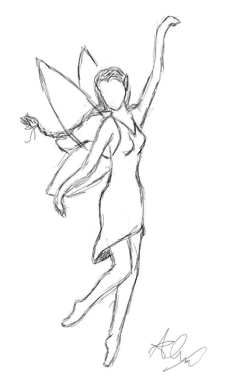 736x1226 Drawn Dancer Simple