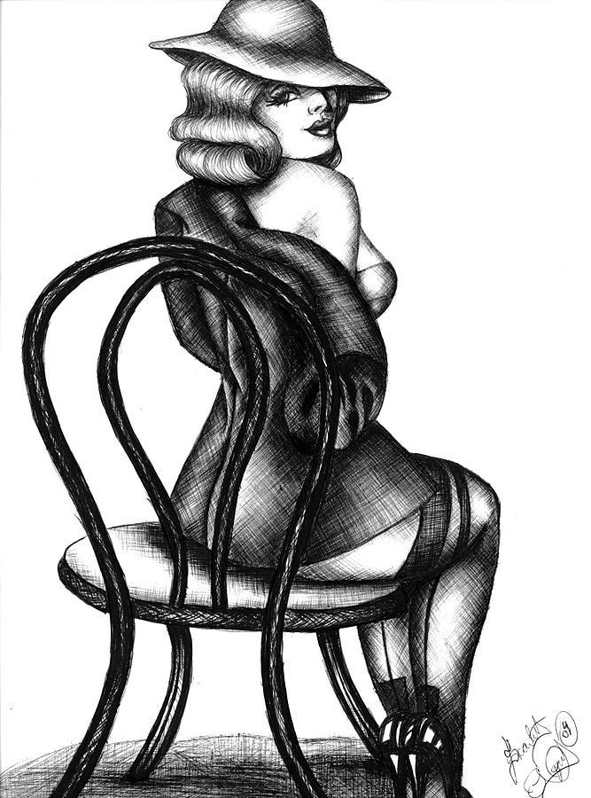 667x900 Jazz Dancer Drawing By Scarlett Royal