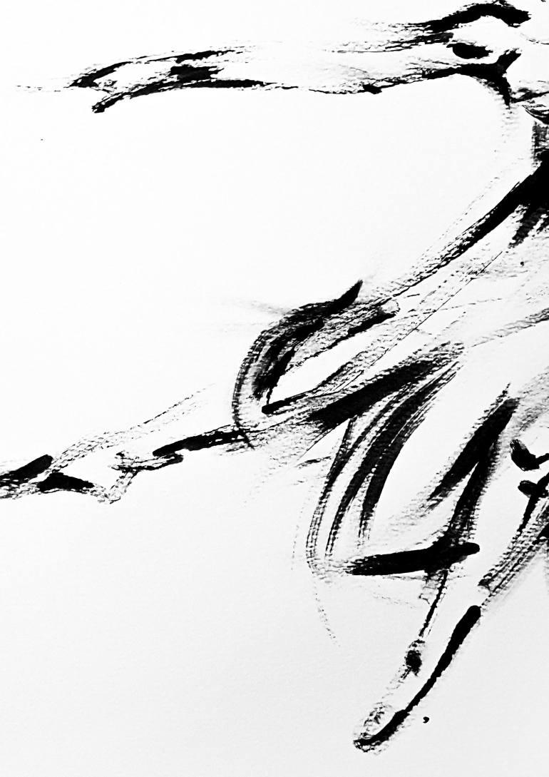 770x1089 Saatchi Art The Street Dancer Drawing By David Rabie