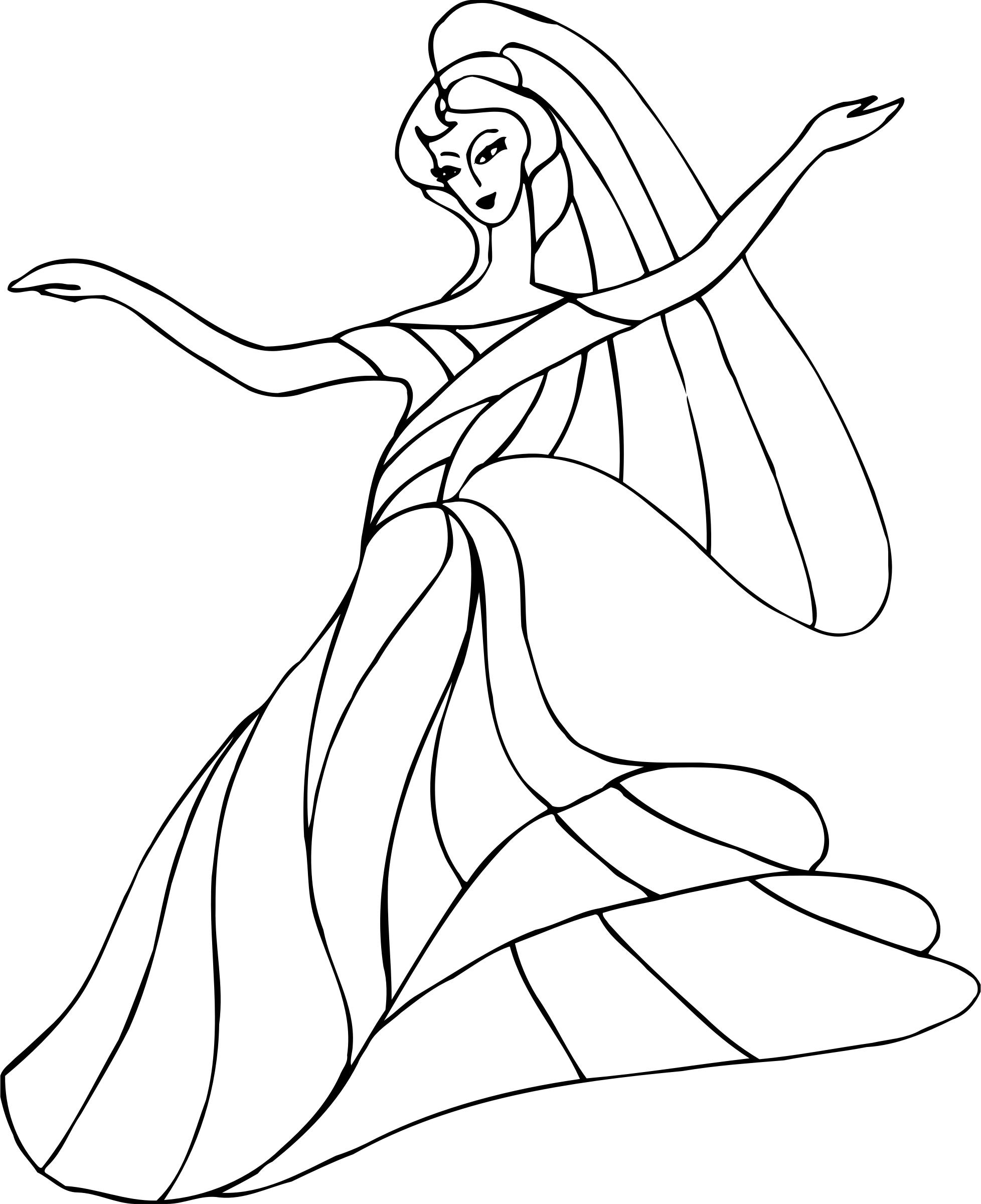 1956x2400 Dancer 12 Line Drawing Icons Png