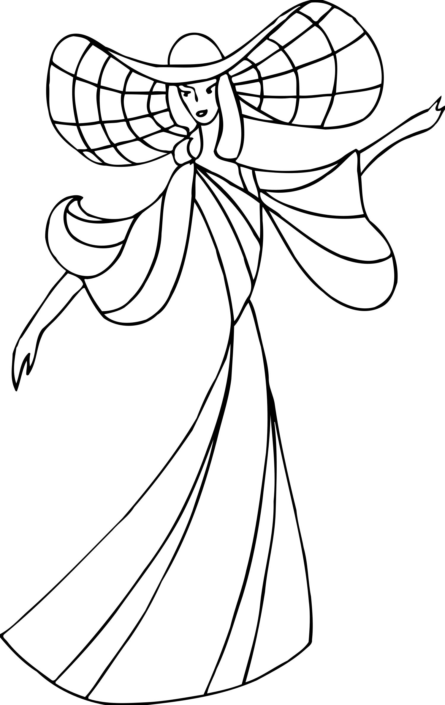 1499x2371 Dancer 17 Line Drawing Clipart