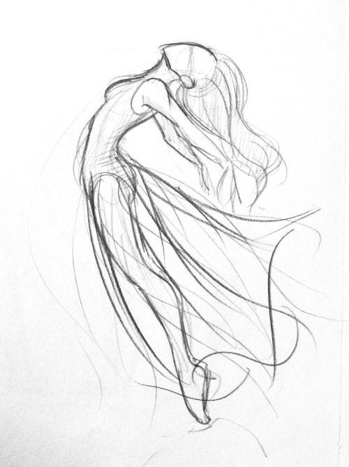 500x669 Drawings Of Dancers