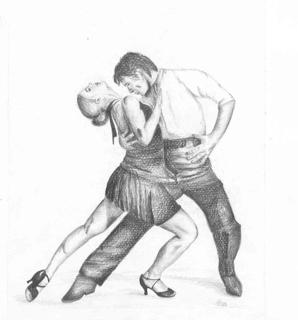 1024x1098 Salsa Dancers By Vereke
