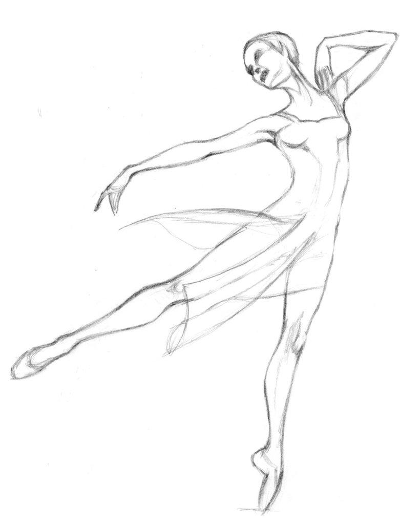 781x1023 Preliminary Drawing For Dancers 4 By Fyrebirdi