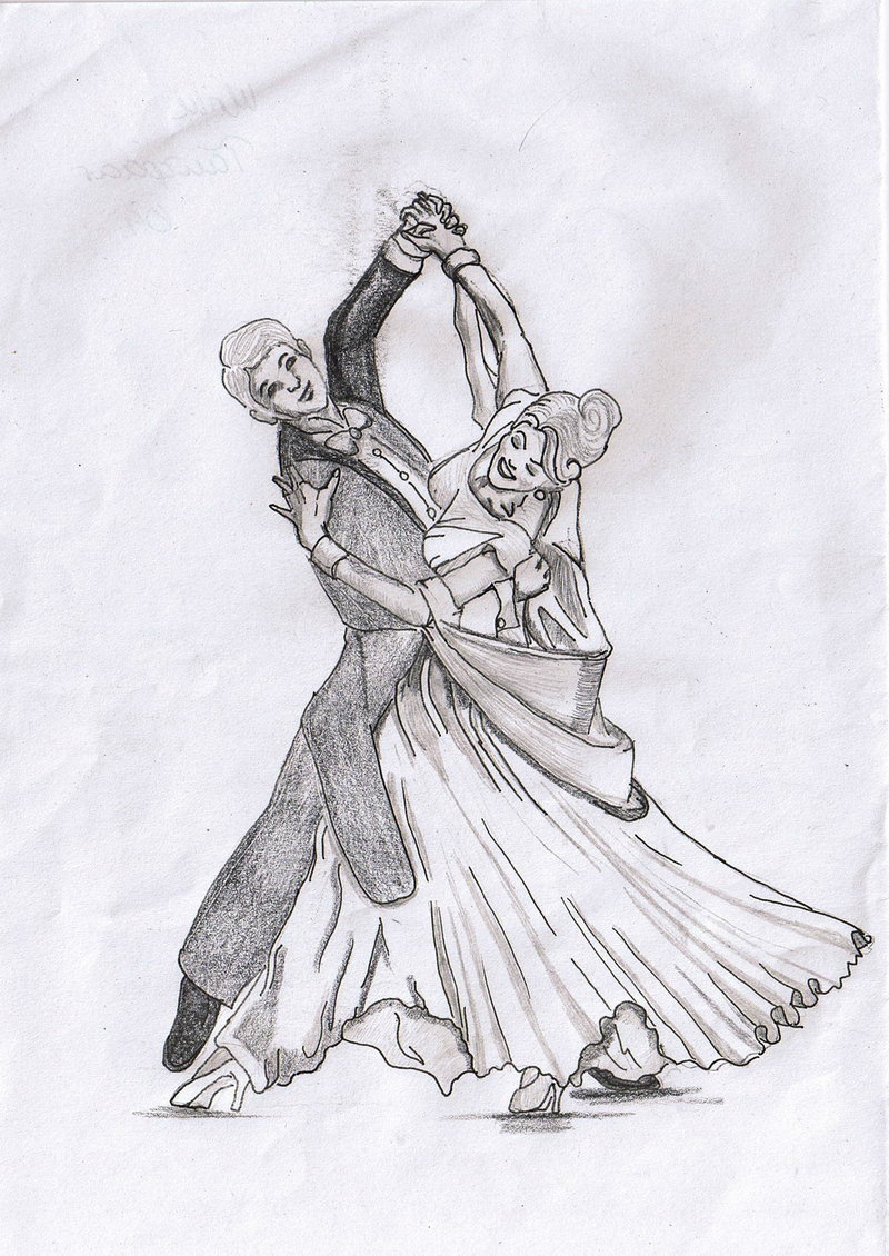 800x1130 Dancing Couple By Vanhia