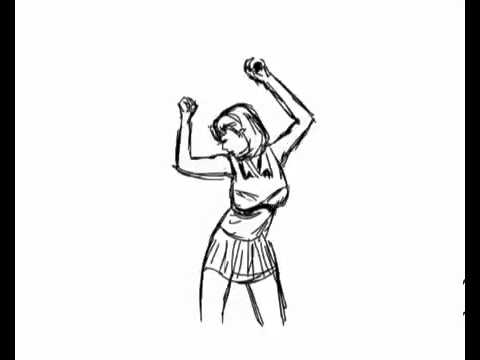 Dancing Drawing Animation