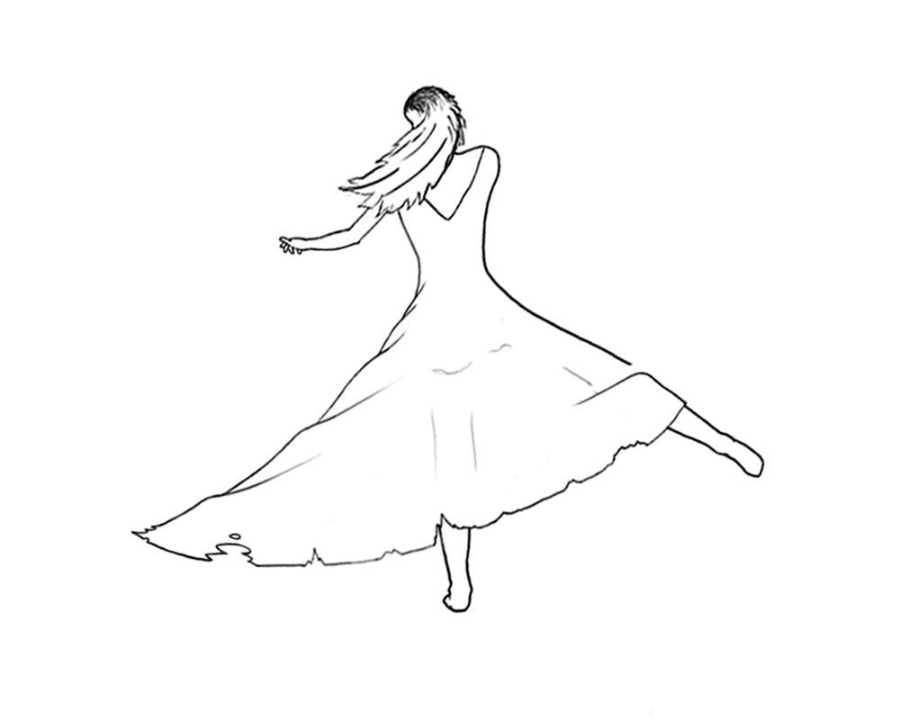 1000x800 Dancing Girl