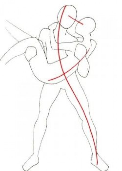 520x728 How To Draw People Figure Drawings, Drawings And Dancing