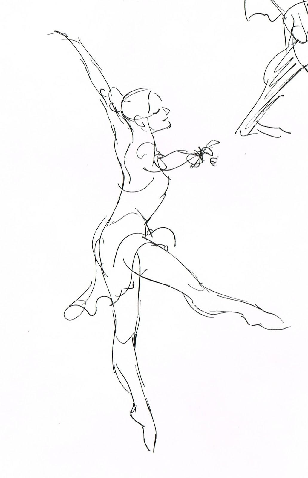 1031x1600 Drawn Ballerine Man Easy