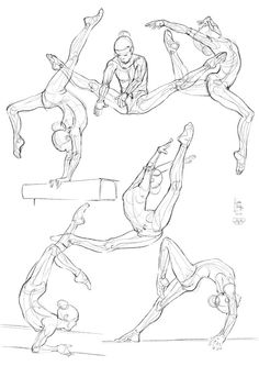 236x333 How To Draw The Human Body Study Dance Body Positions For Comic