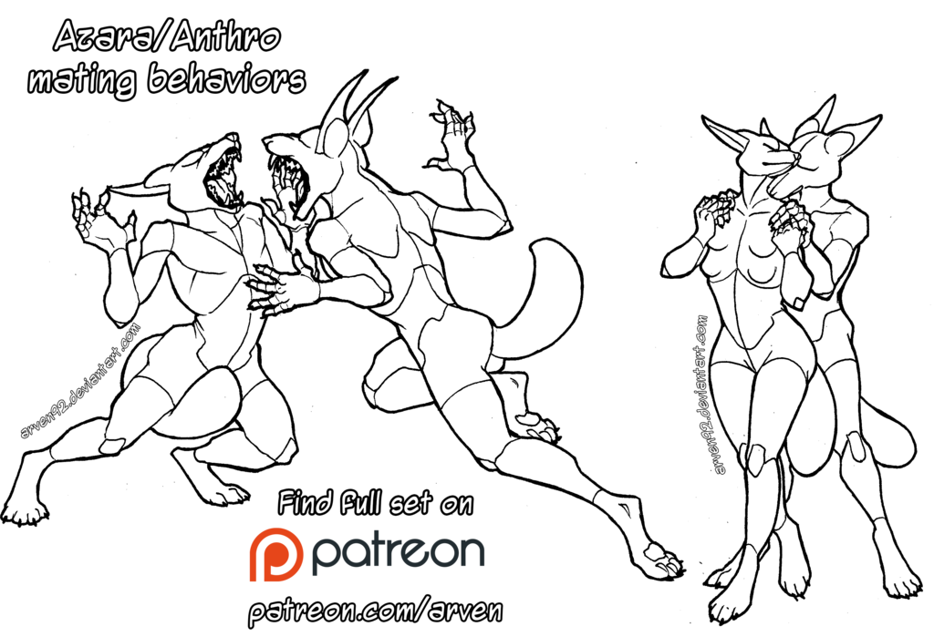 1024x699 Pose Reference Anthro Mating Behaviors + Dlc By Arven92