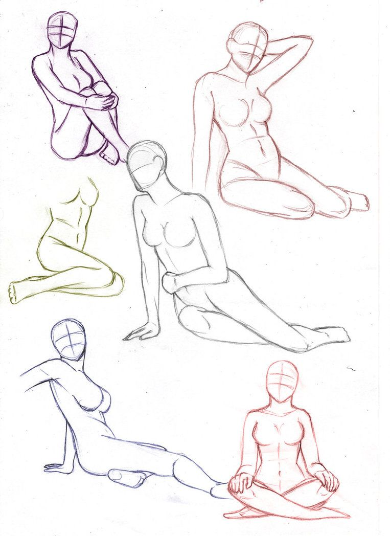 763x1048 Drawing Sitting Poses Female Sitting Poses By ~aliceazzo