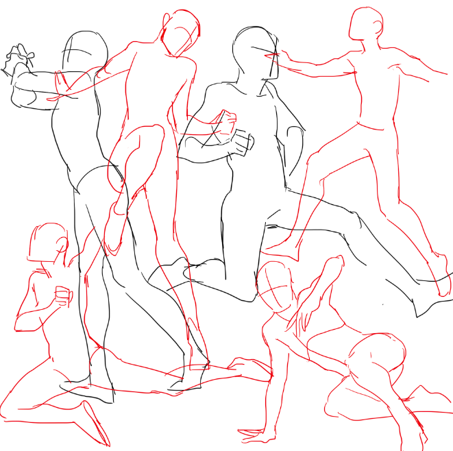 661x658 Practicing Drawing Some Waltzes With A Couple Of Random Hiphop Ish