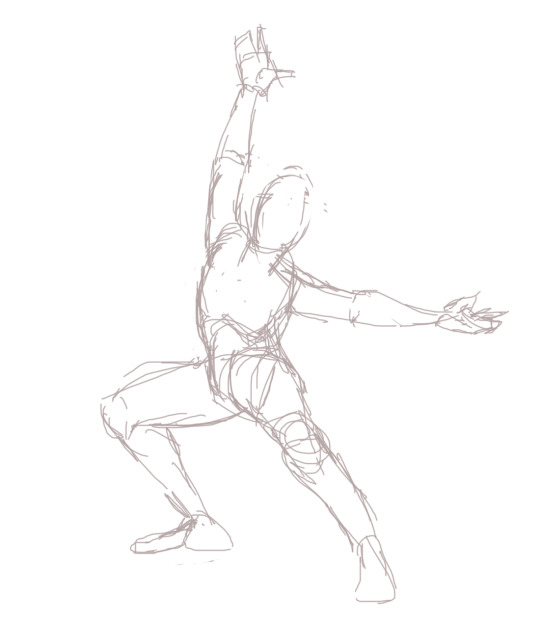 540x626 Trying To Do More Dynamic Poses Tumblr