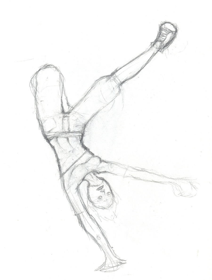 900x1187 Breakdance By Plish