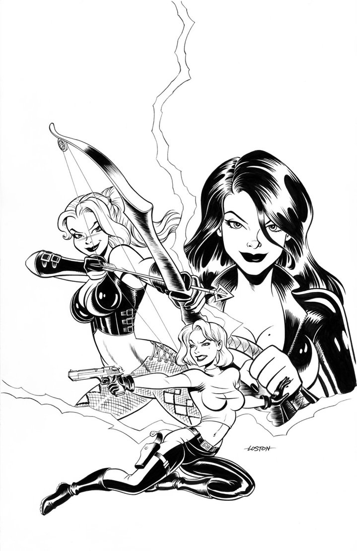 719x1110 Danger Girl Cover By Lostonwallace