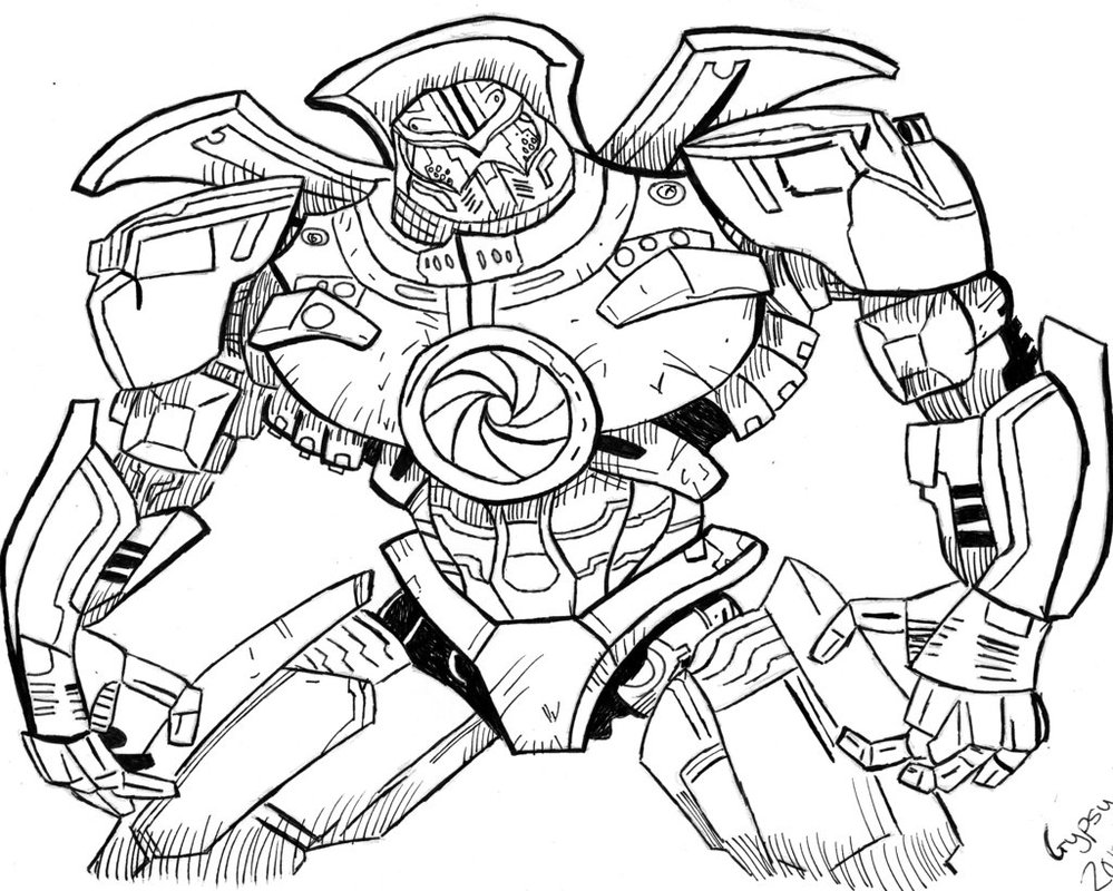 999x800 Gypsy Danger By Hunterjarret