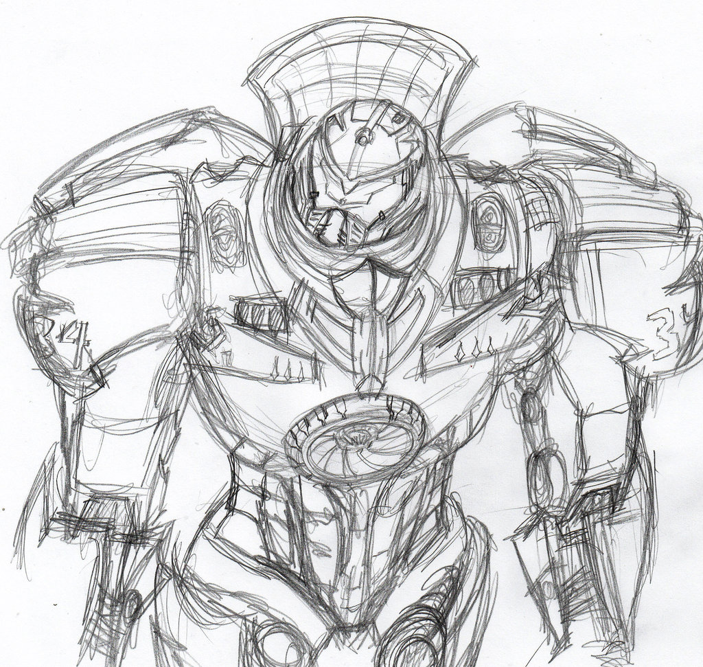 1024x971 Jaeger 34 Gypsy Danger By Constantscribbles