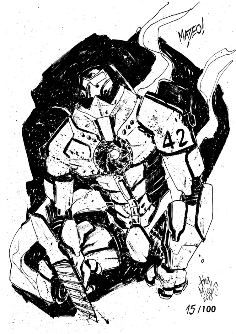 752x1063 Sketchbook Sketch 2013 Gipsy Danger! By Alessandromicelli