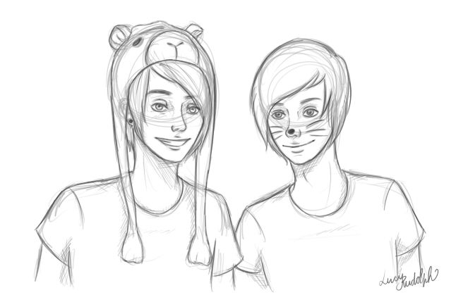 646x419 Dan And Phil By ~missfreakyluce On Why Are They Women