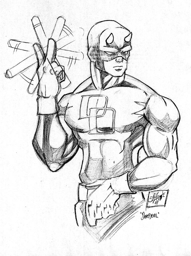 Daredevil Drawing