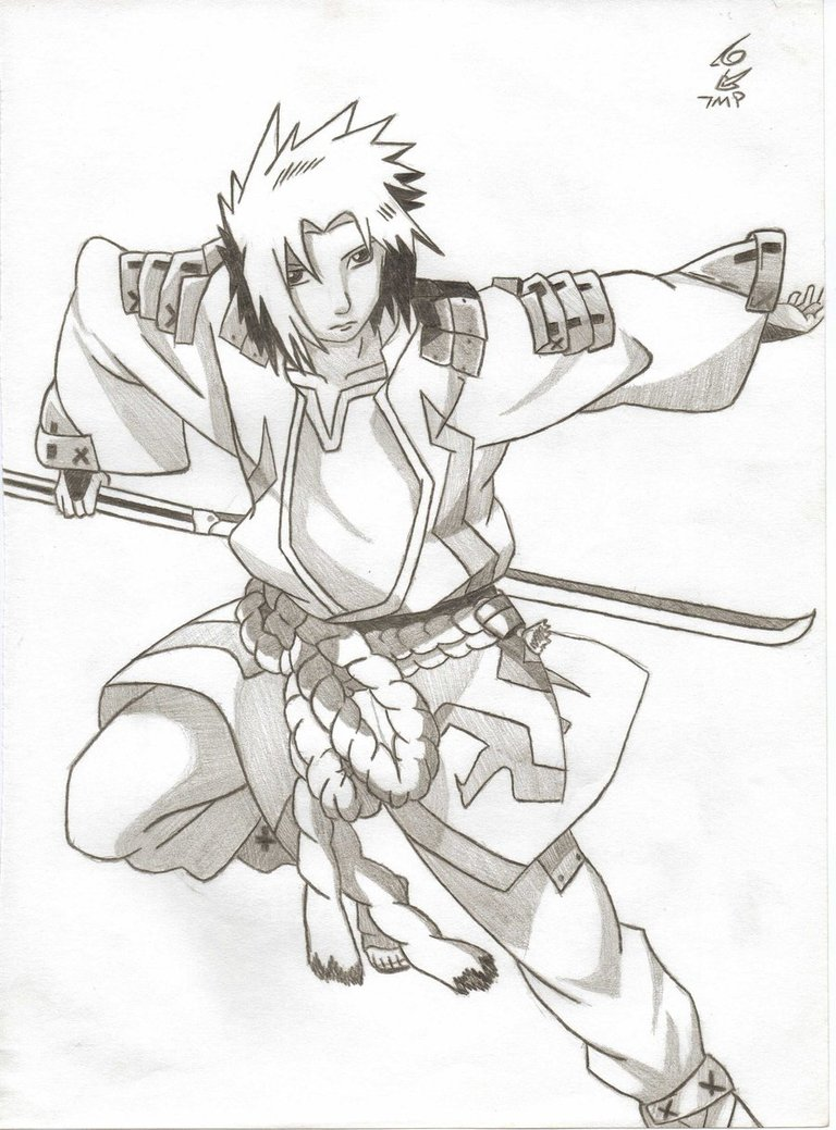 768x1039 Sasuke Lightning Outfit By Dark Angel 434