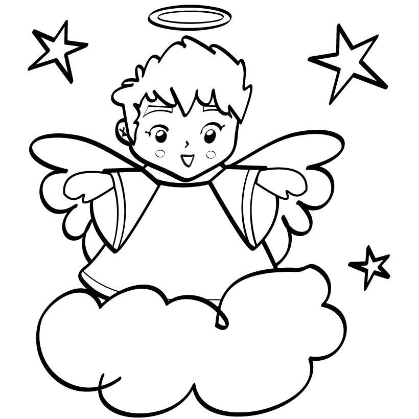 820x820 Dark Angel Clipart Boy Angel