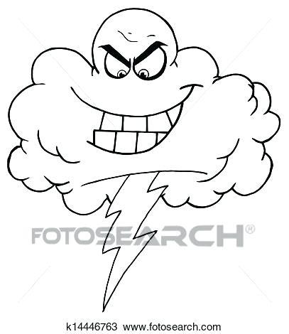 407x470 Storm Cloud Clipart Memocards.co