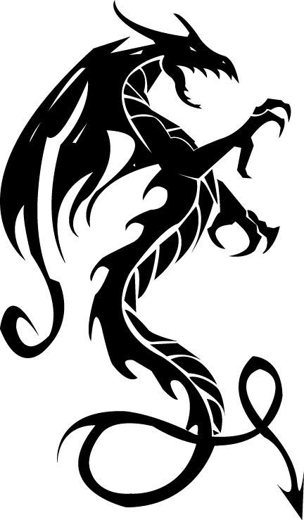 432x739 Dragon Tattoo Images Amp Designs