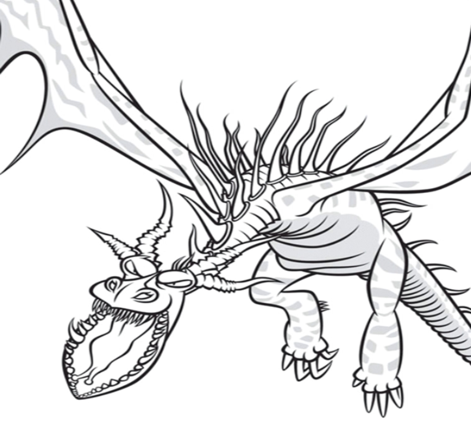1516x1360 Monstrous Nightmare Drawings~ School Of Dragons How To Train