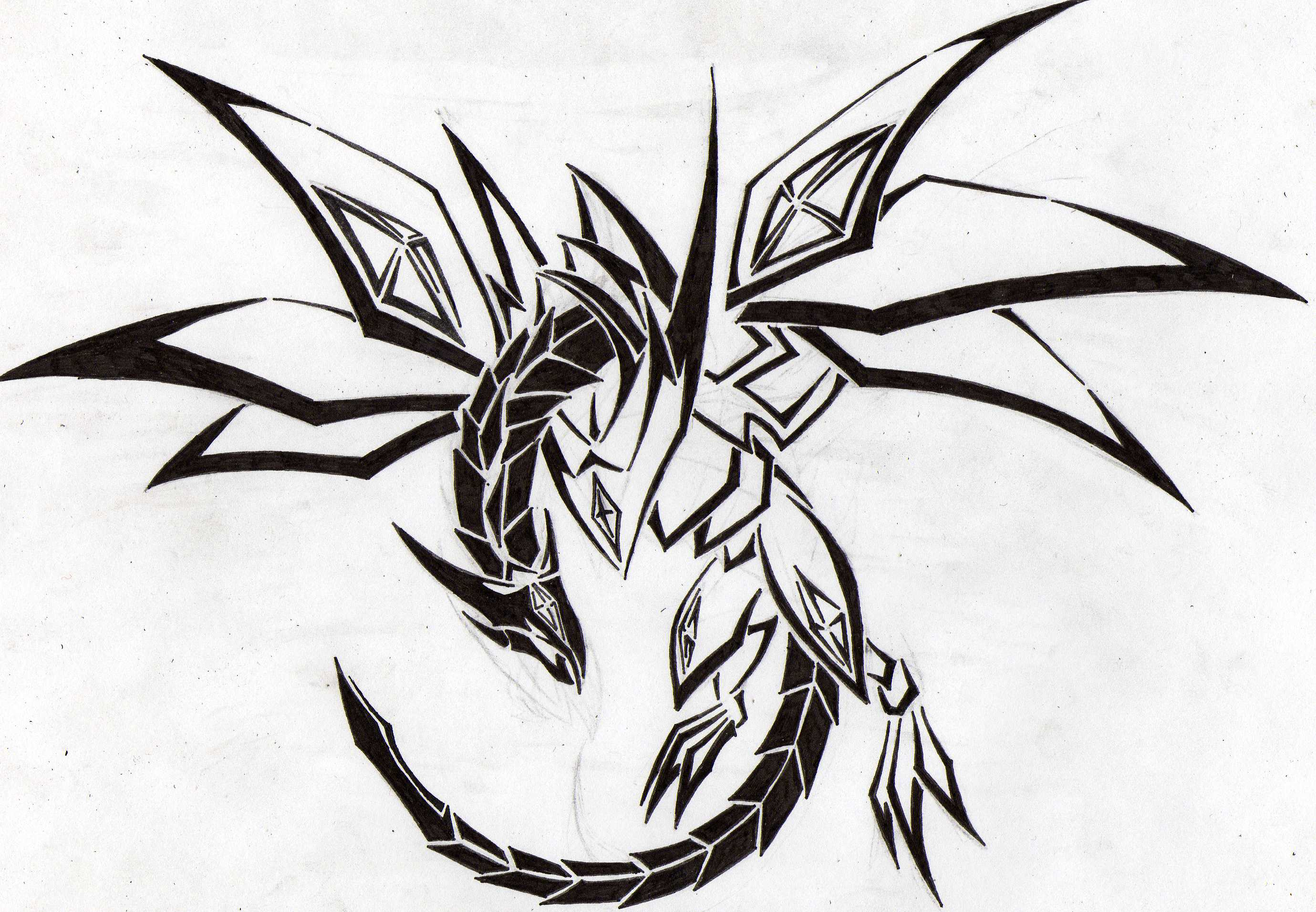 2759x1913 Red Eyes Darkness Dragon Tribal By Aglinskas