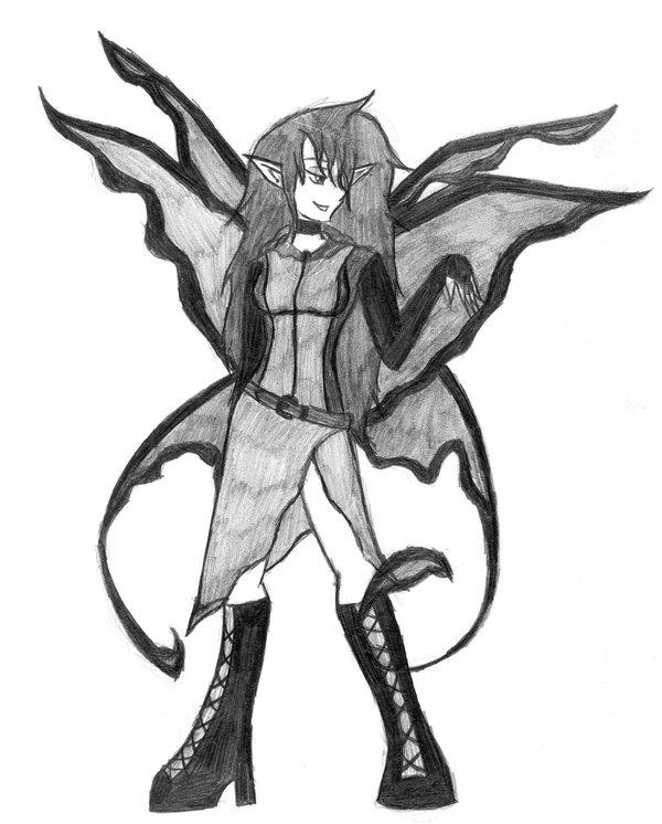 600x746 Dark Fairy Practice By Darkangel10003