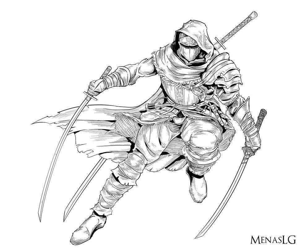 983x812 Dark Souls 3 Ashene By Menaslg