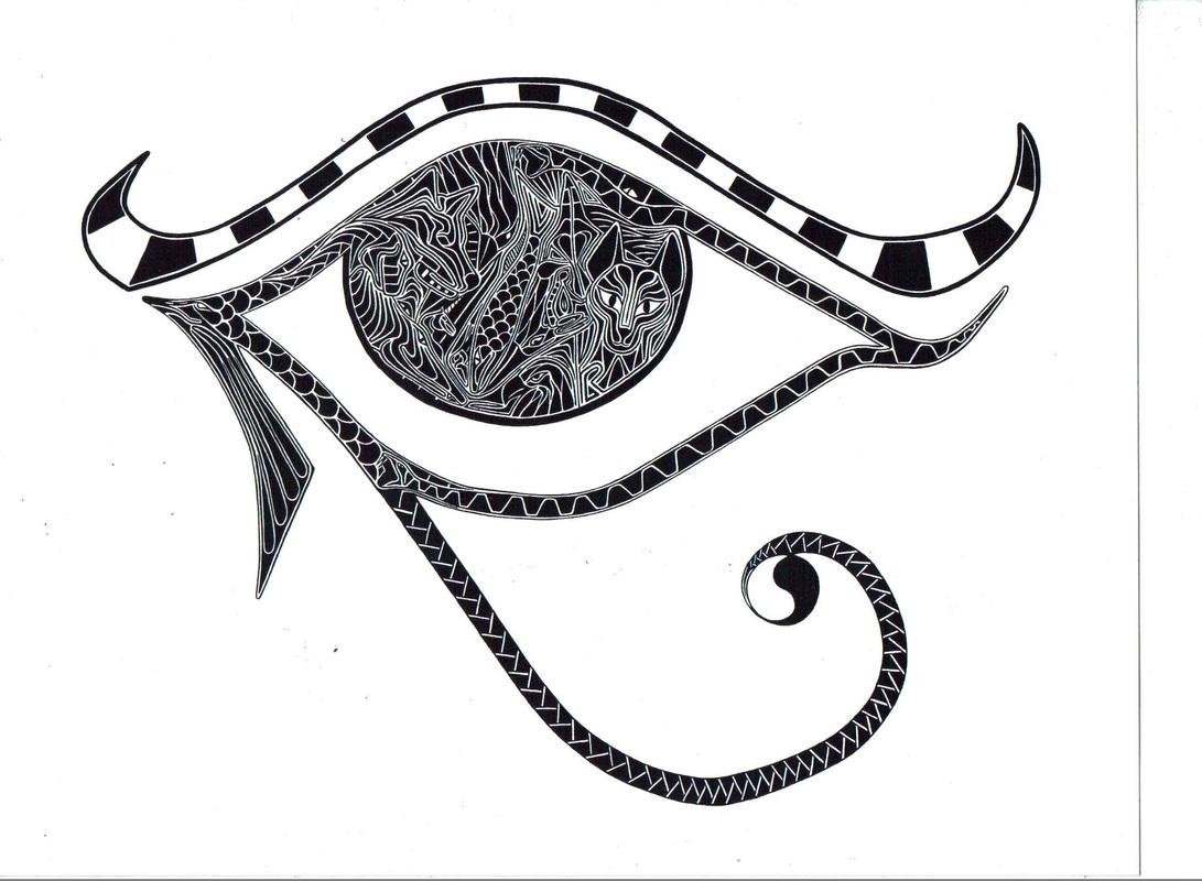 1091x800 Eye Of Ra Horus