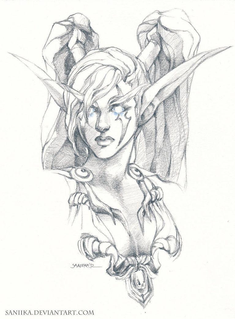 768x1041 Night Elf Druid Hunter Night Elf, Elves And Dark Elf