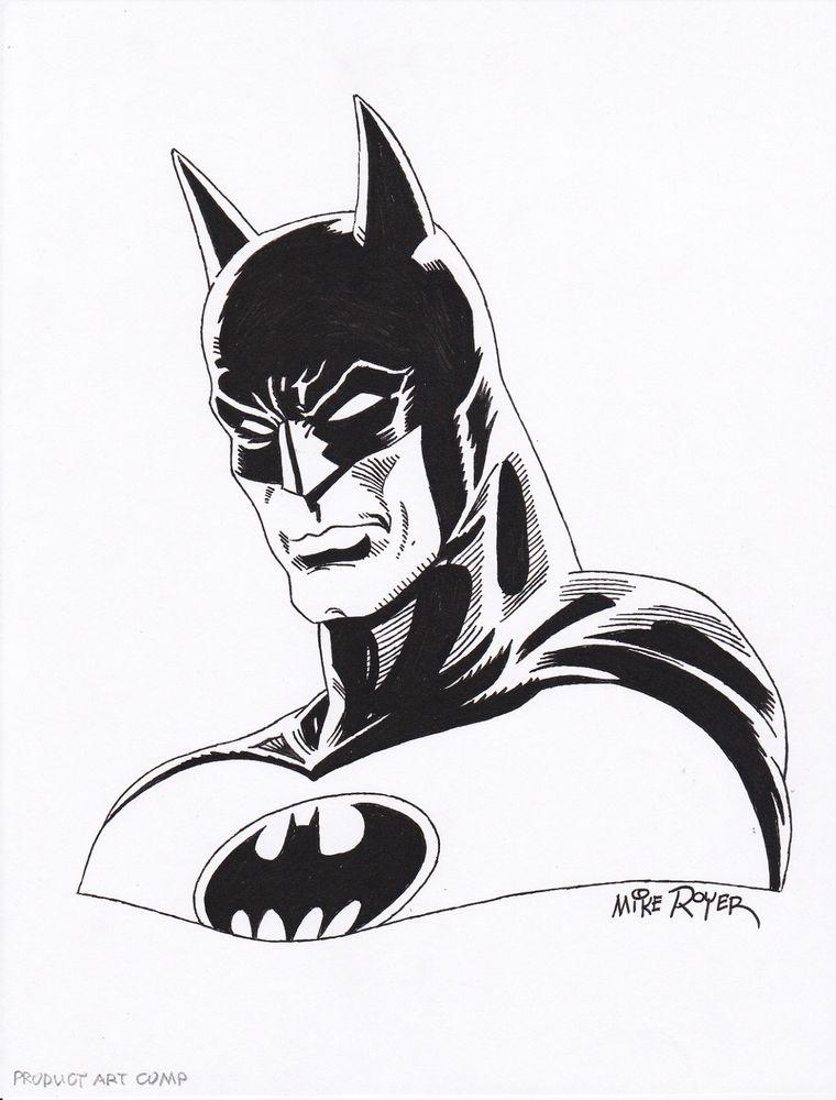 760x1000 Batman By Mike Royer Batman Batman, Dark Knight
