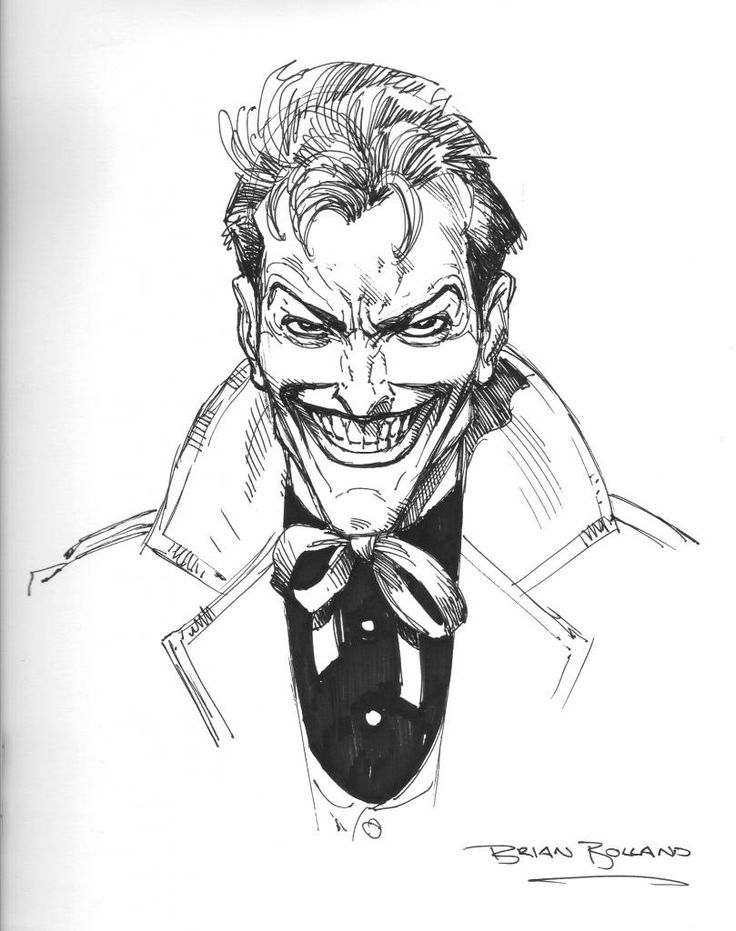 736x931 The Joker By Brian Bolland Dc Characters Amp Artists