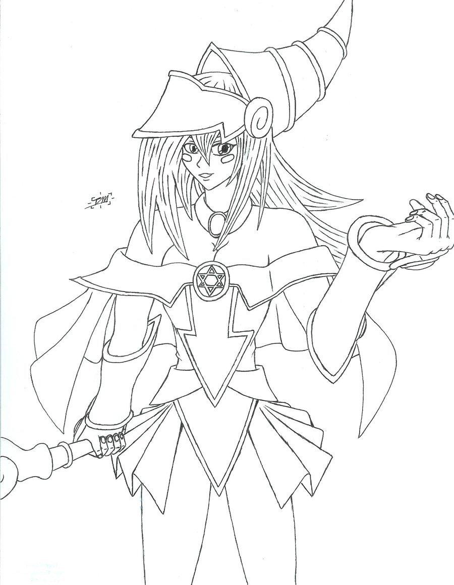 900x1160 Dark Magician Girl Xd By Tacticianmark