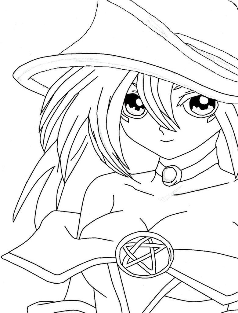 780x1024 Dark Magician Girl By D3nn0s