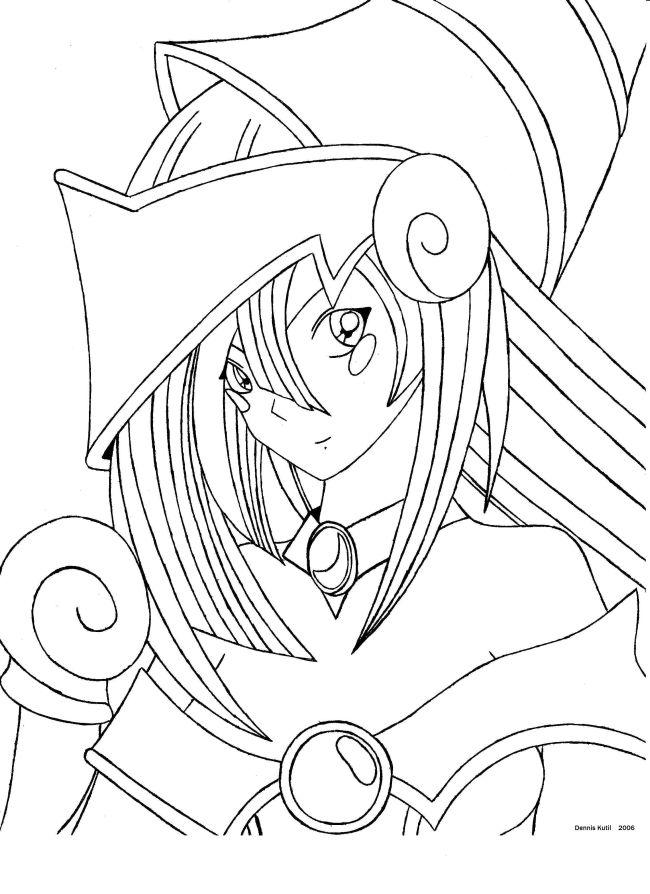 650x894 Dark Magician Girl By Jarekb