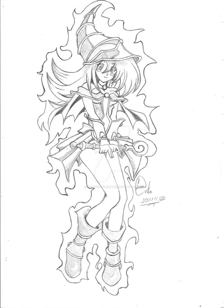 762x1048 Dark Magician Girl By Shinryunosekai