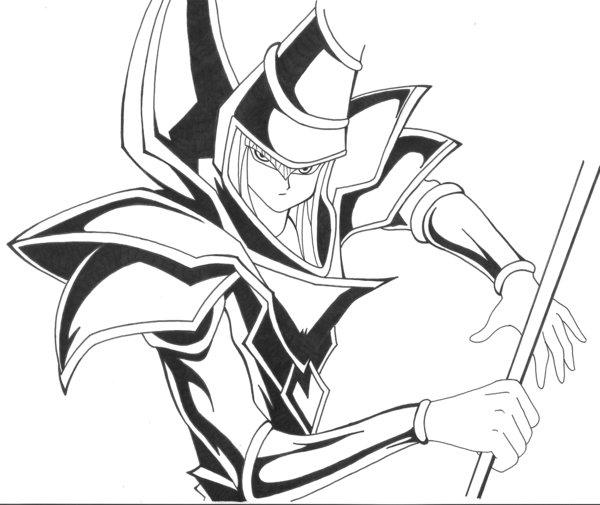 600x505 Dark Magician By Rickybob