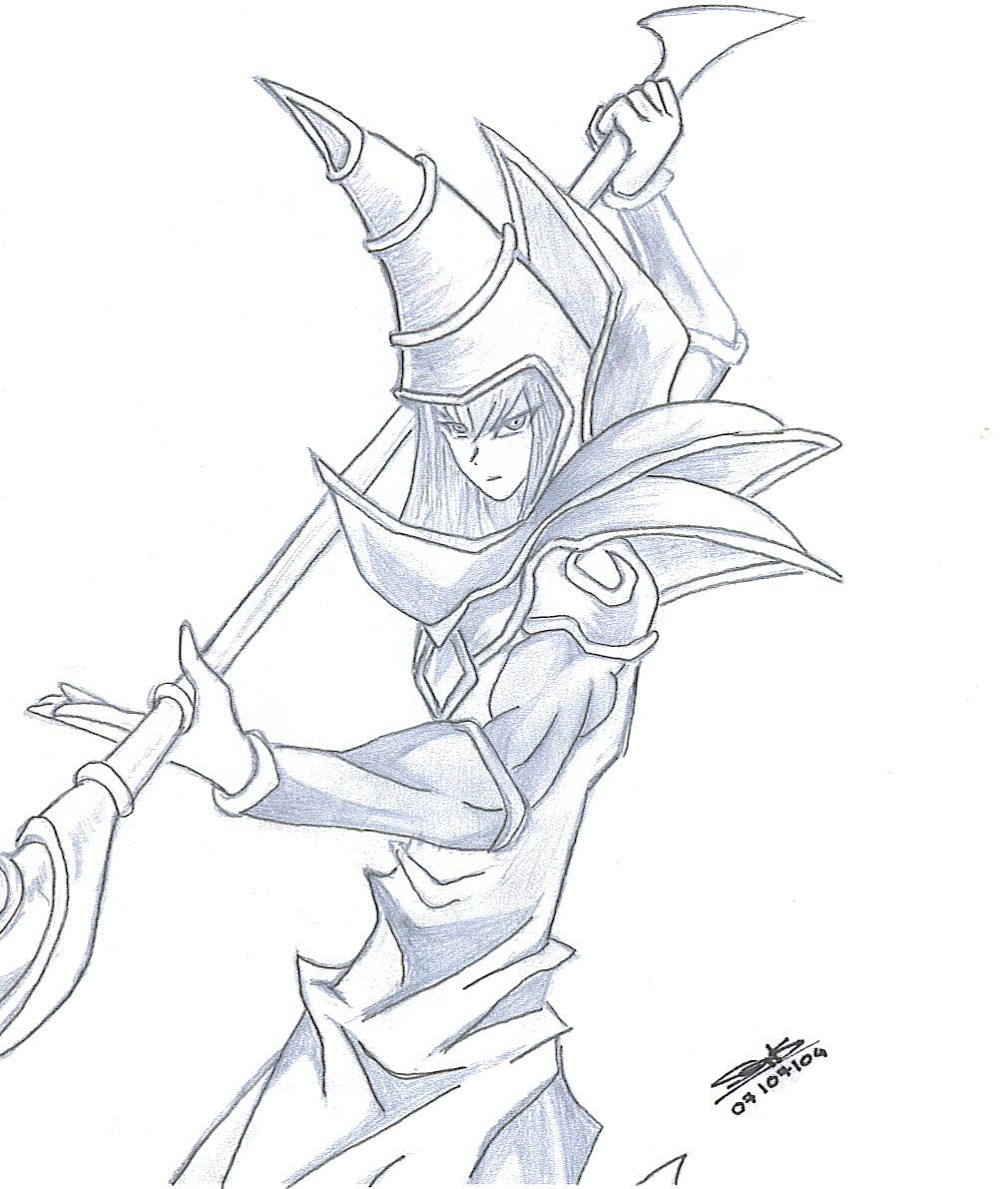 1010x1191 Dark Magician By Willel