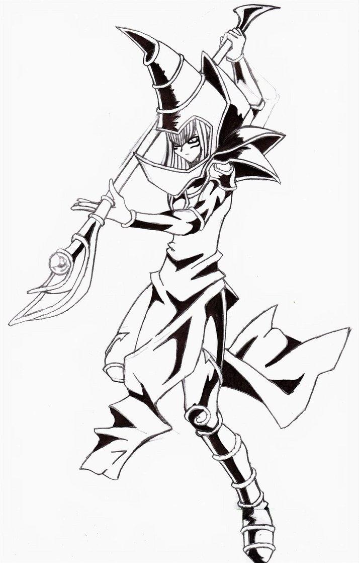 714x1118 Dark Magician By Yoskos