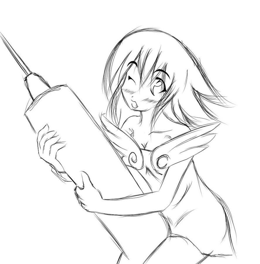 887x900 Scketch Dark Magician Girl By Shirayu
