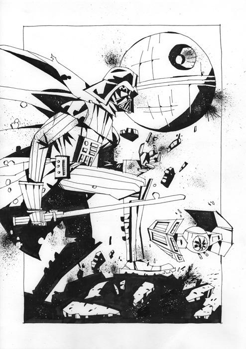 494x700 Darth Vader By J0n Lankry