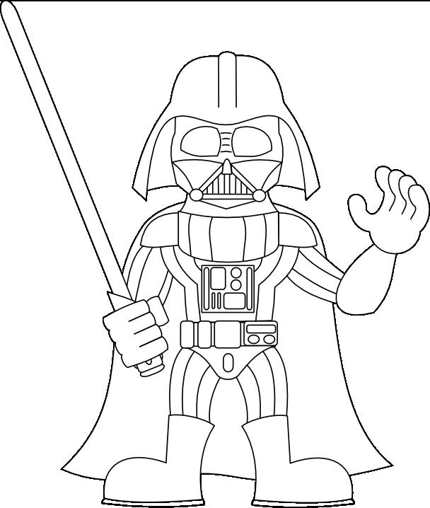 608x718 Drawing Practice Darth Vader + Stormtrooper Sirrob01