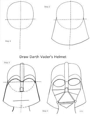 309x400 Drawn Darth Vader